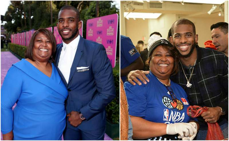 Chris Paul's family - mother Robin Paul