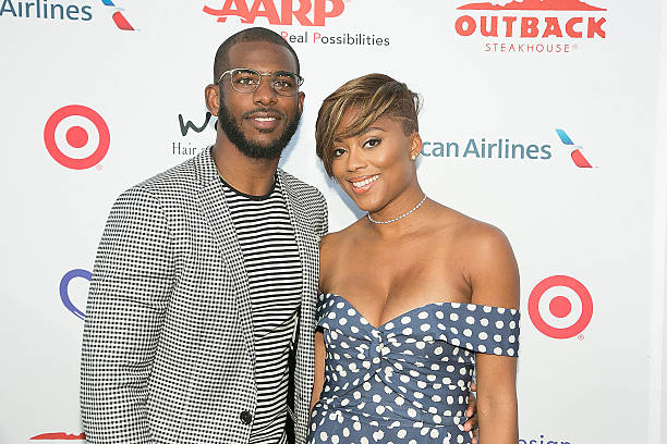 Chris Paul's family - wife Jada Crawley