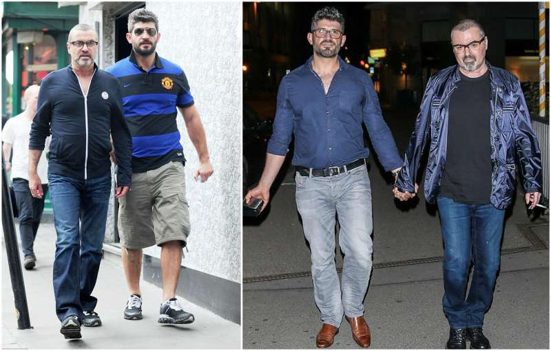 George Michael's family - partner Fadi Fawaz