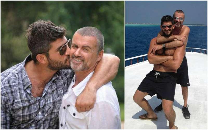 George Michael's family - boyfriend Fadi Fawaz