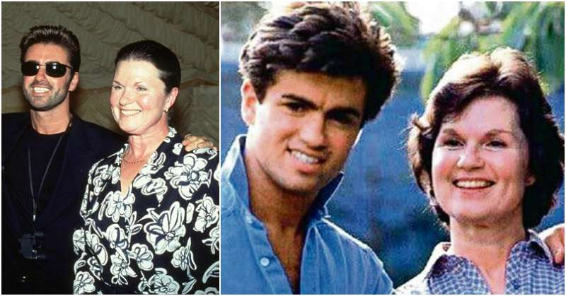 George Michael's family - mother Lesley Angold Panayiotou