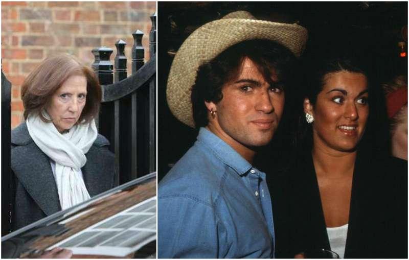 George Michael's siblings - sister Melanie Panayiotou