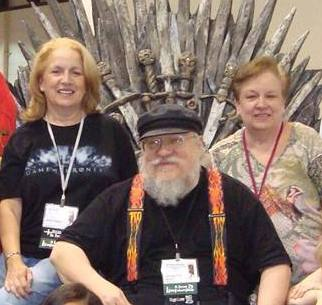 George RR Martin's siblings - sisters Janet Patten and Darleen Lapinski