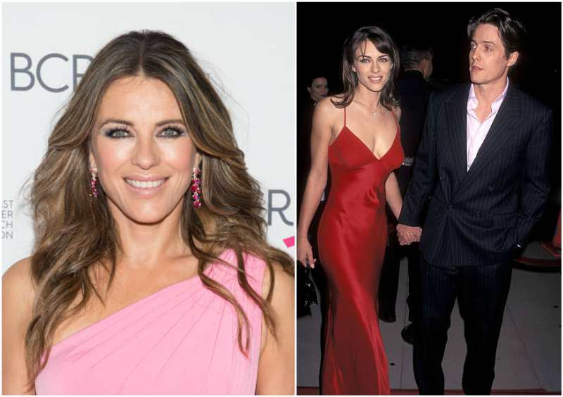 Hugh Grant's family - ex-girlfriend Elizabeth Hurley
