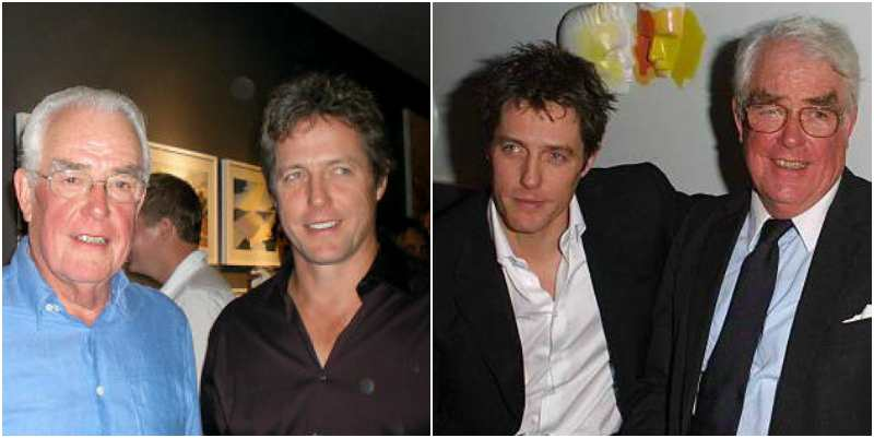 Hugh Grant's family - father James Grant
