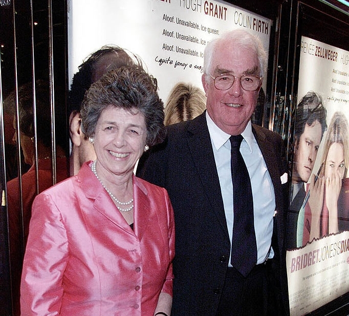 Hugh Grant's family - mother Finvola Grant