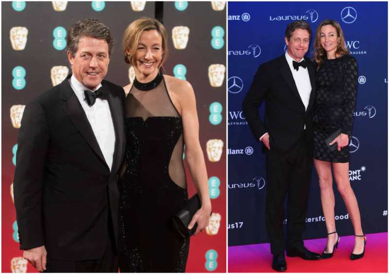 Hugh Grant's family - girlfriend Anna Elisabet Eberstein