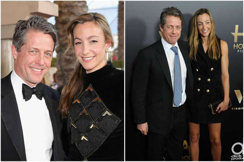 Hugh Grant's family - girlfriend Anna Eberstein