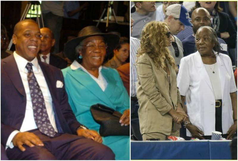Jay-Z family - grandmother Hattie White