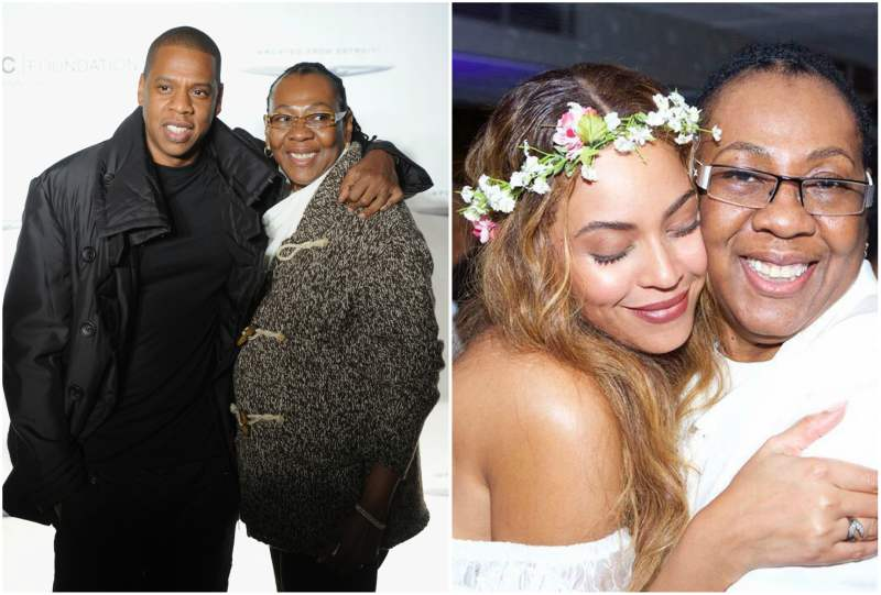 Jay-Z family - mother Gloria Carter