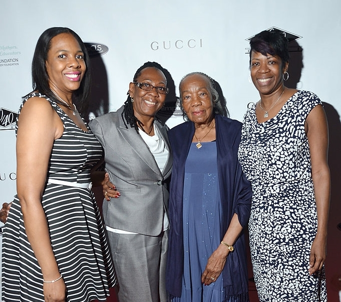 Jay-Z family - sisters, mother and grandmother