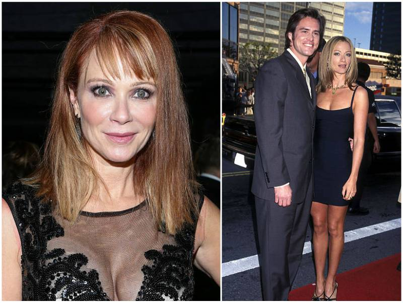 Jim Carrey's family - ex-wife Lauren Holly
