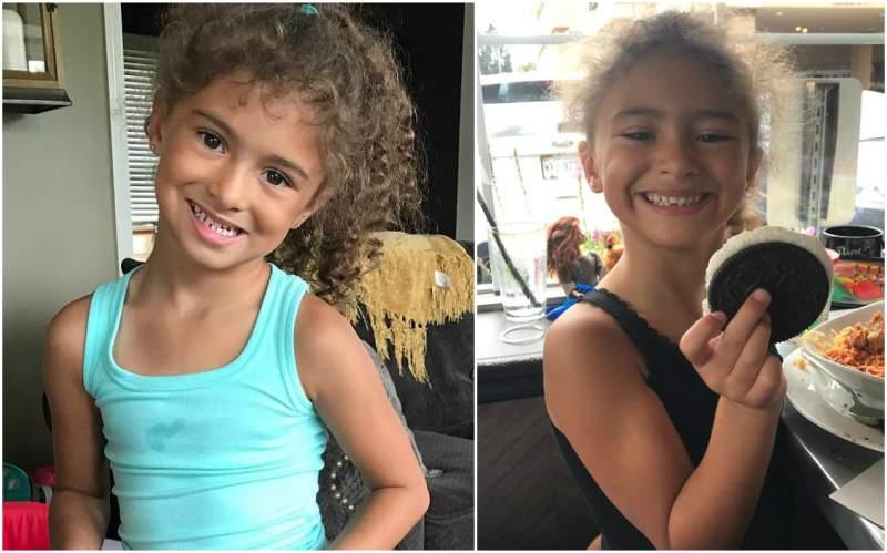 Kurt Angle's children - daughter Giuliana Marie Angle