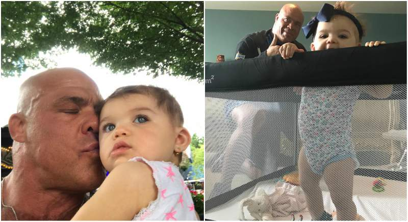 Kurt Angle's children - daughter Nikoletta Sky Angle