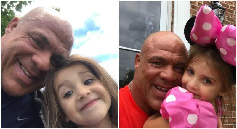 Kurt Angle's children - daughter Sophia Laine Angle