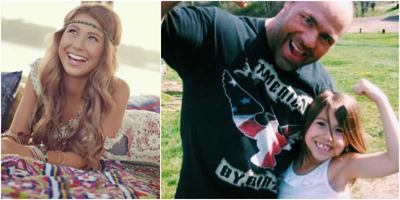 Kurt Angle's children - daughter Kyra Angle