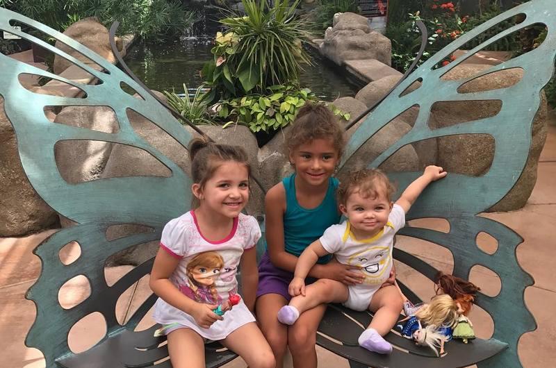 Kurt Angle and Giovanna Yannotti's children - 3 daughters