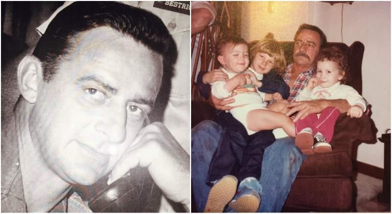 Kurt Angle's family - father Dave Angle