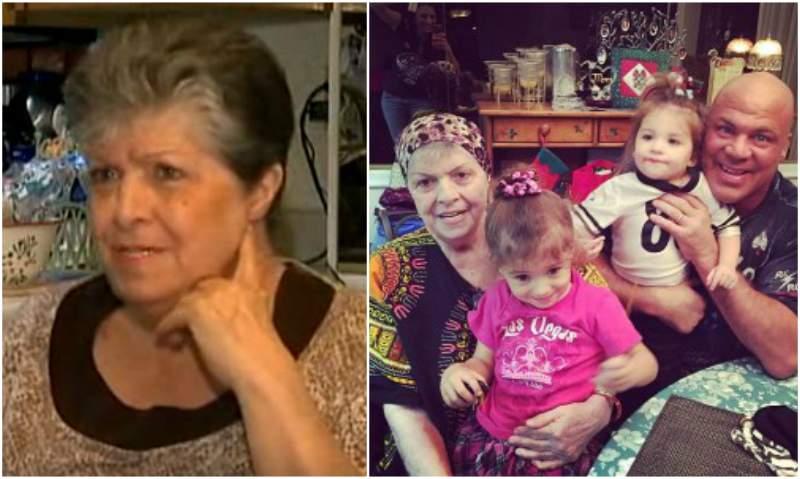 Kurt Angle's family - mother Jackie Angle