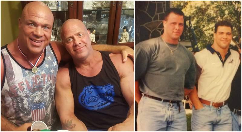 Kurt Angle's siblings - brother Eric Angle