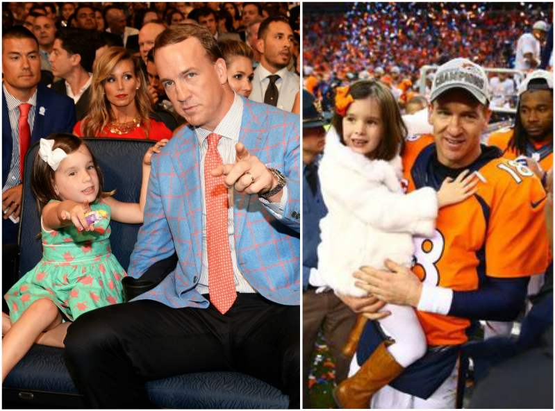 Peyton Manning's children - daughter Mosley Thompson Manning