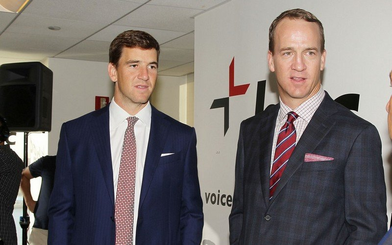 Peyton Manning's siblings - brother Eli Nelson Manning