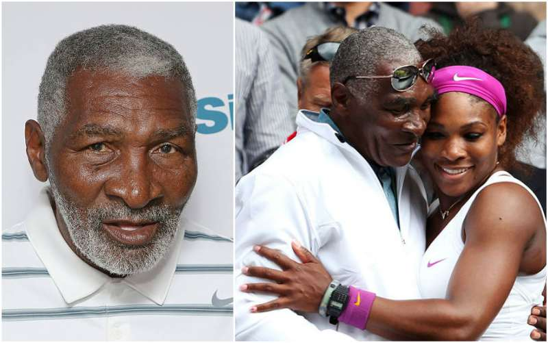 Serena Williams' family - father Richard Williams II
