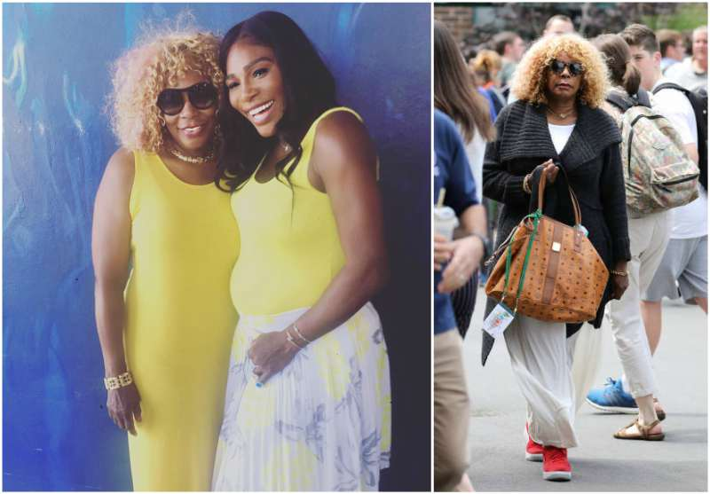 Serena Williams' family - mother Oracene Price