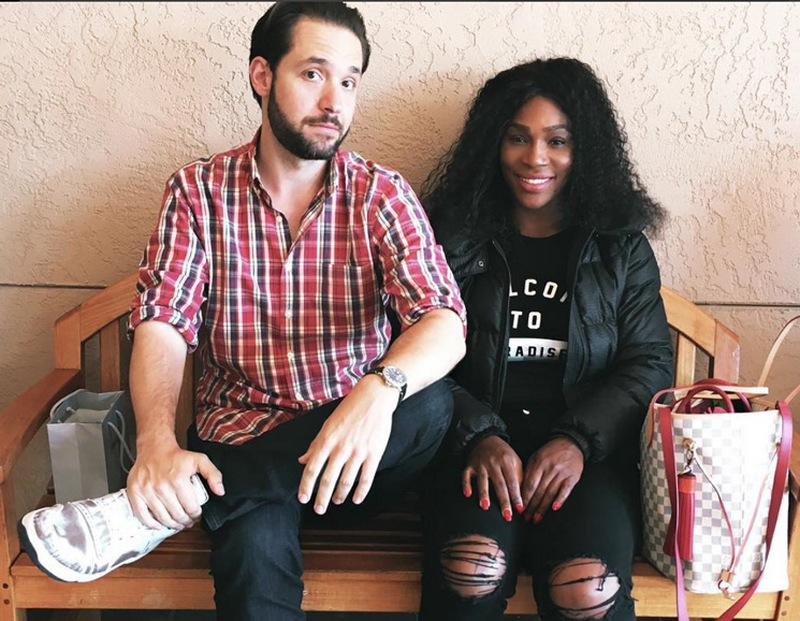 Serena Williams' family - husband Alexis Ohanian