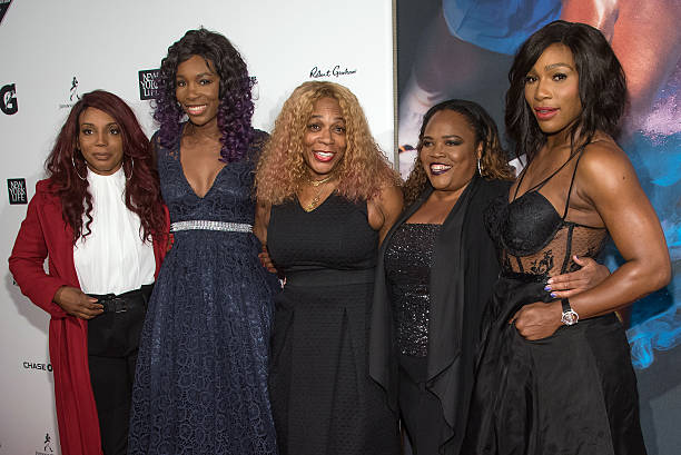Serena Williams' family - mother and sisters