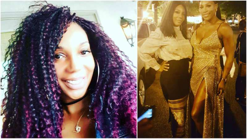 Serena Williams' siblings - half-sister Lyndrea Price