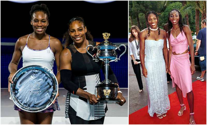 Serena Williams' siblings - sister Venus Williams
