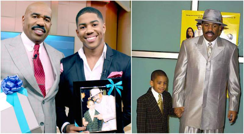 Steve Harvey's children - son Wynton Harvey