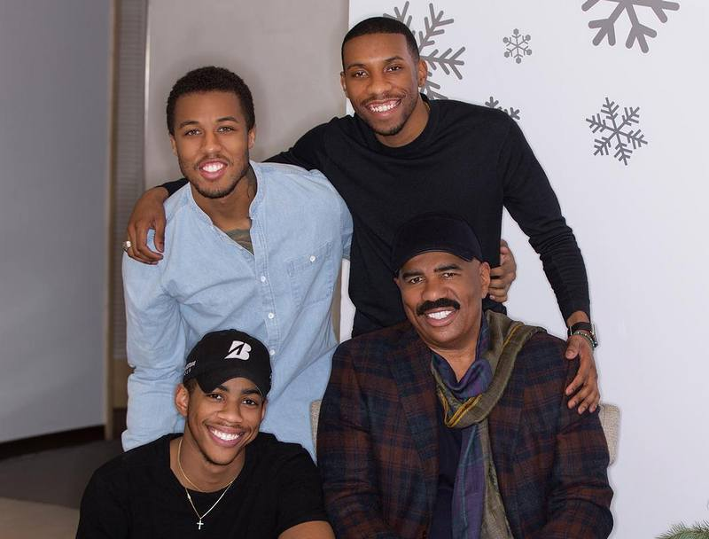 Steve Harvey's children - 3 sons