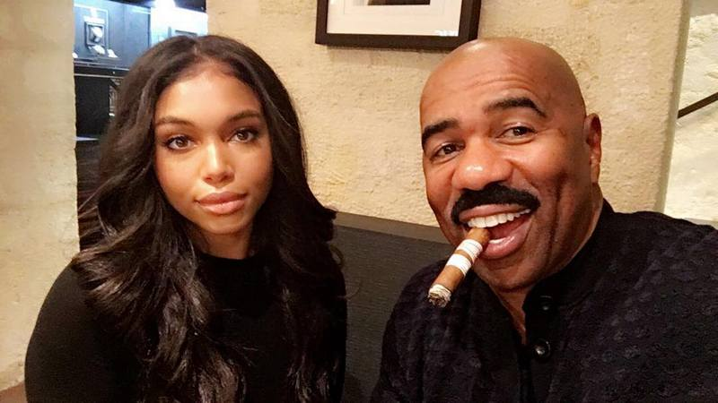 Steve Harvey's children - step-daughter Lori Harvey