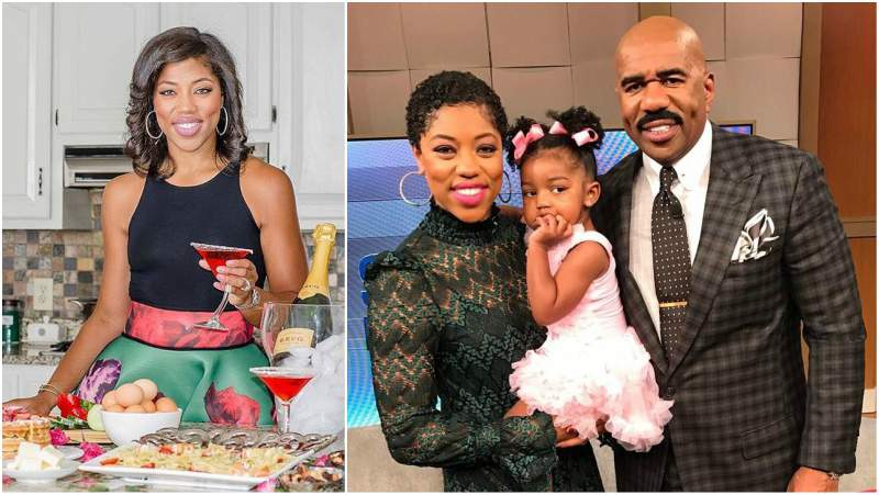 Steve Harvey's children - step-daughter Morgan Harvey