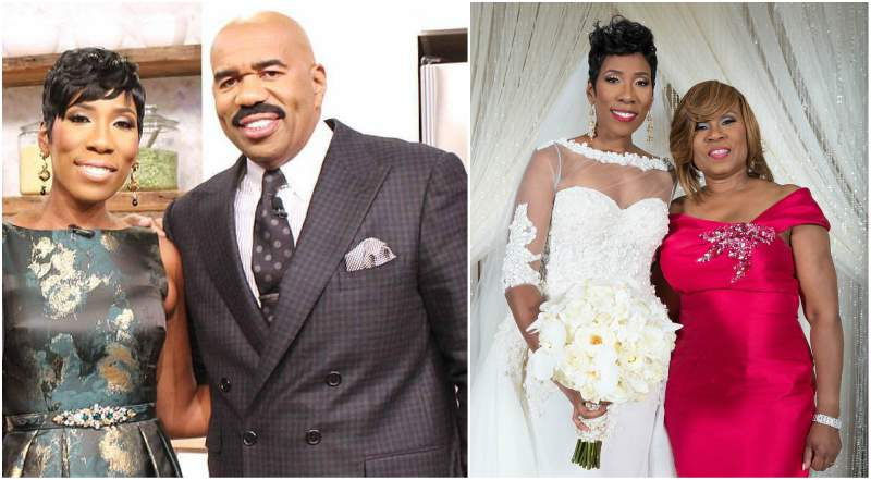 Steve Harvey's children - twin daughter Karli Harvey Raymond