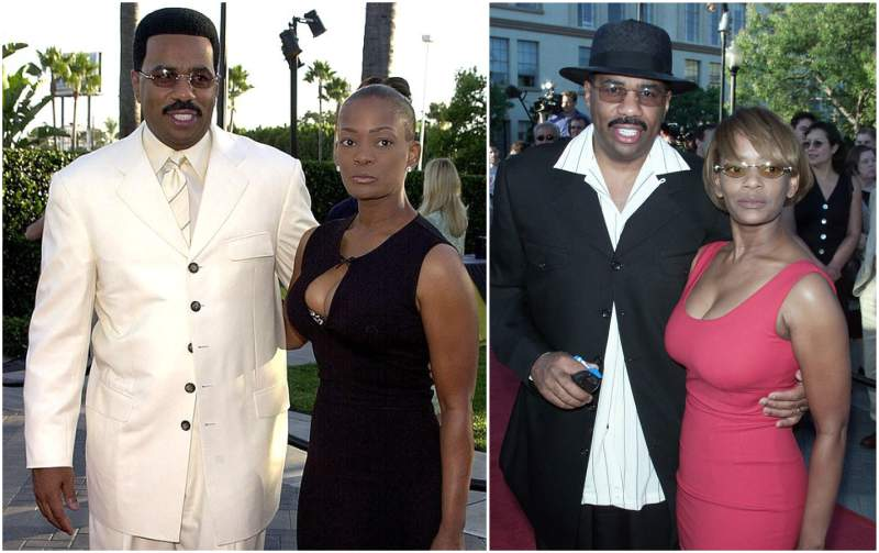 Steve Harvey's family - ex-wife Mary Lee Harvey