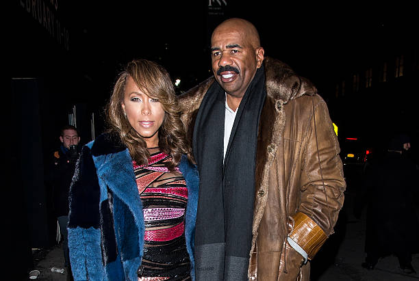 Steve Harvey's family - wife Marjorie Elaine Harvey