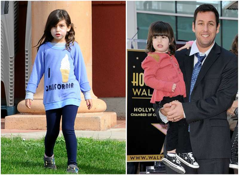 Adam Sandler's children - daughter Sunny Madeline Sandler