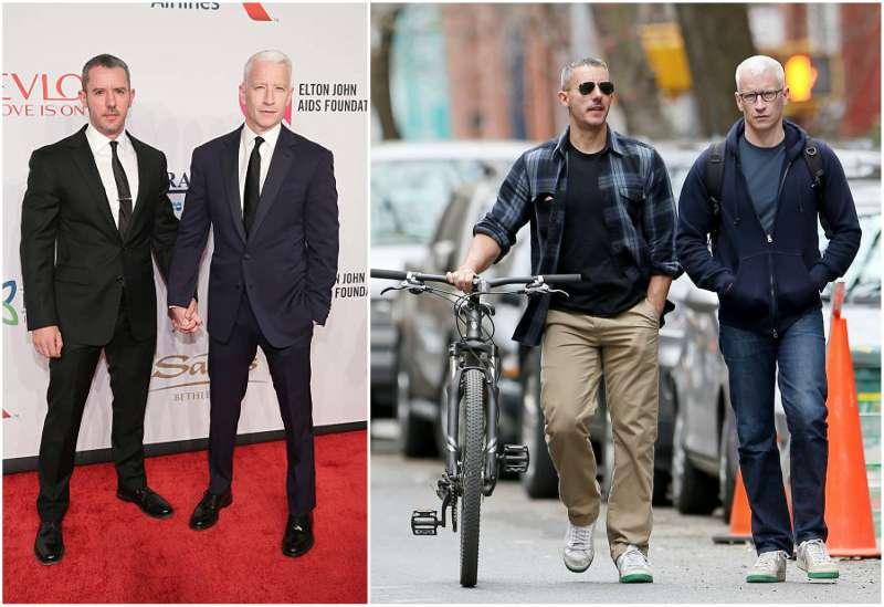Anderson Cooper's family - partner Benjamin Maisani