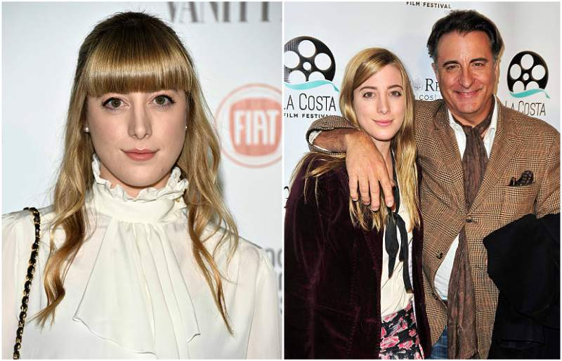 Andy Garcia's children - daughter Daniella Garcia-Lorido