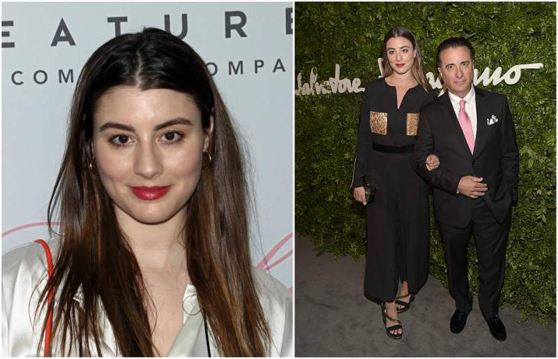 Andy Garcia's children - daughter Dominik Cristina Garcia-Lorido