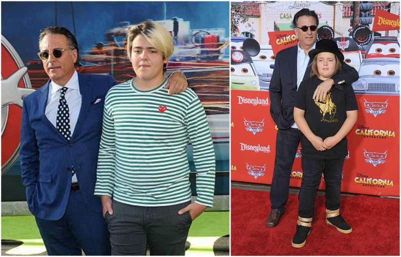 Andy Garcia's children - son Andres Antonio Garcia-Lorido
