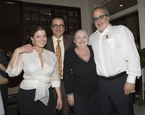 Andy Garcia's family - siblings and mother