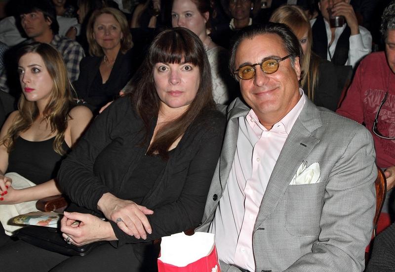 "Andy Garcia's family - wife Maria Victoria ""Marivi"" Lorido Garcia"