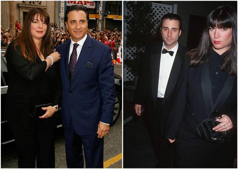 Andy Garcia's family - wife Marivi Lorido Garcia