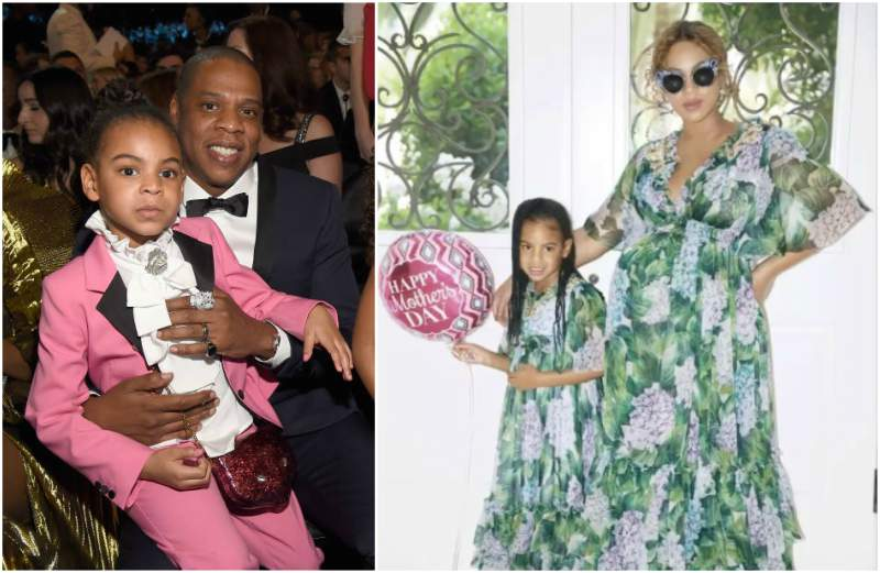 Beyonce and Jay-Z's children - daughter Blue Ivy Carter