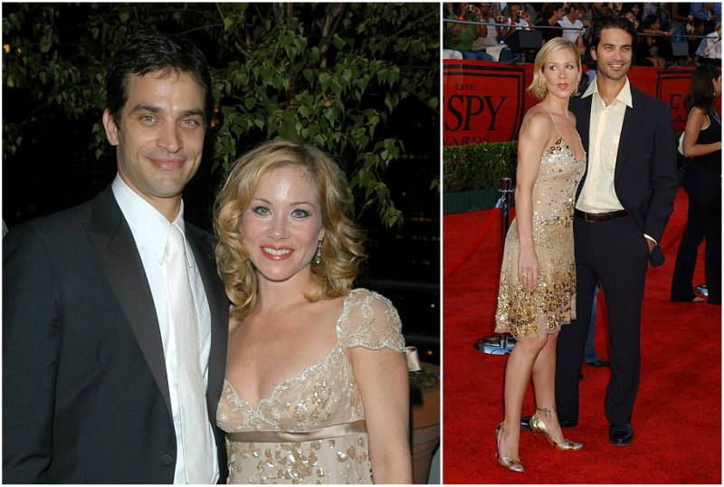 Christina Applegate's family - ex-husband Johnathon Schaech
