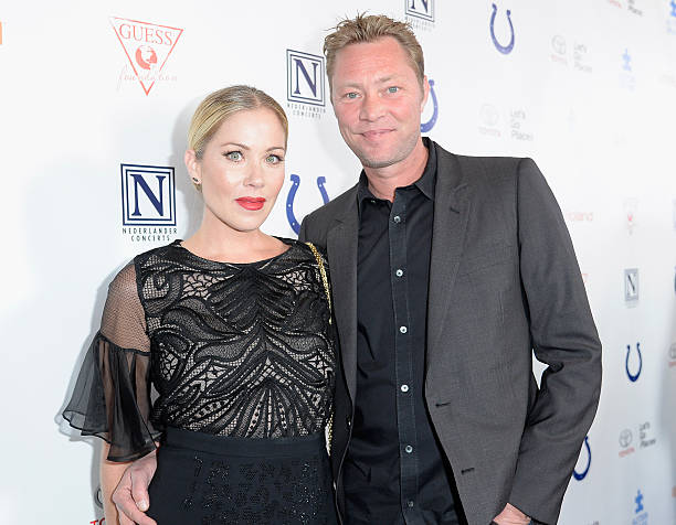 Christina Applegate's family - husband Martyn LeNoble